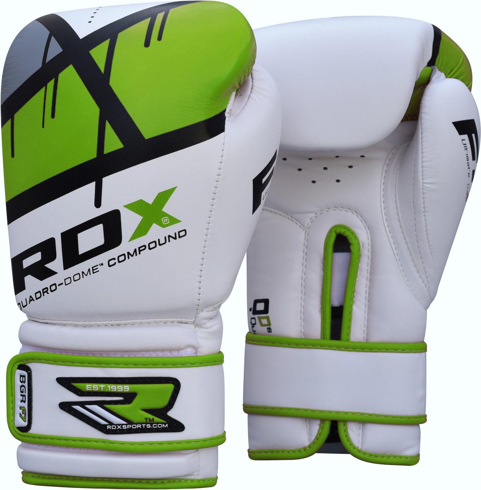 Bokso pirštinės RDX BGR-F7 žalios, 12oz