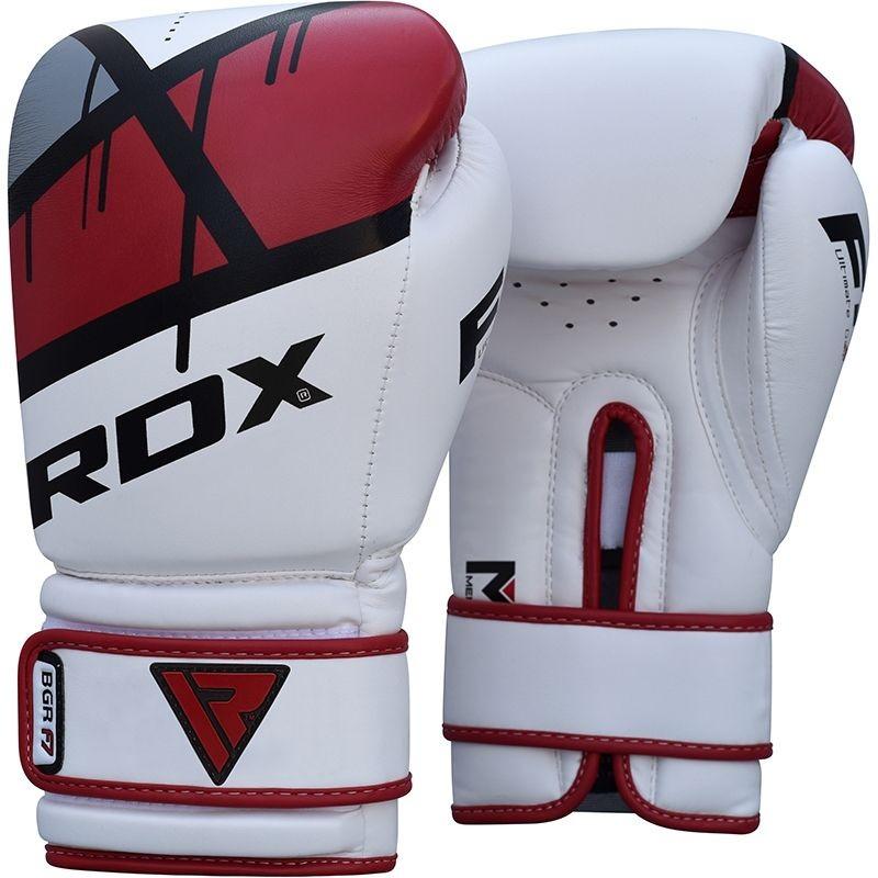 Bokso pirštinės RDX BGR-F7 raudonos, 12oz