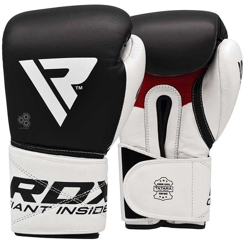 Bokso pirštinės RDX S5 juodai/baltos