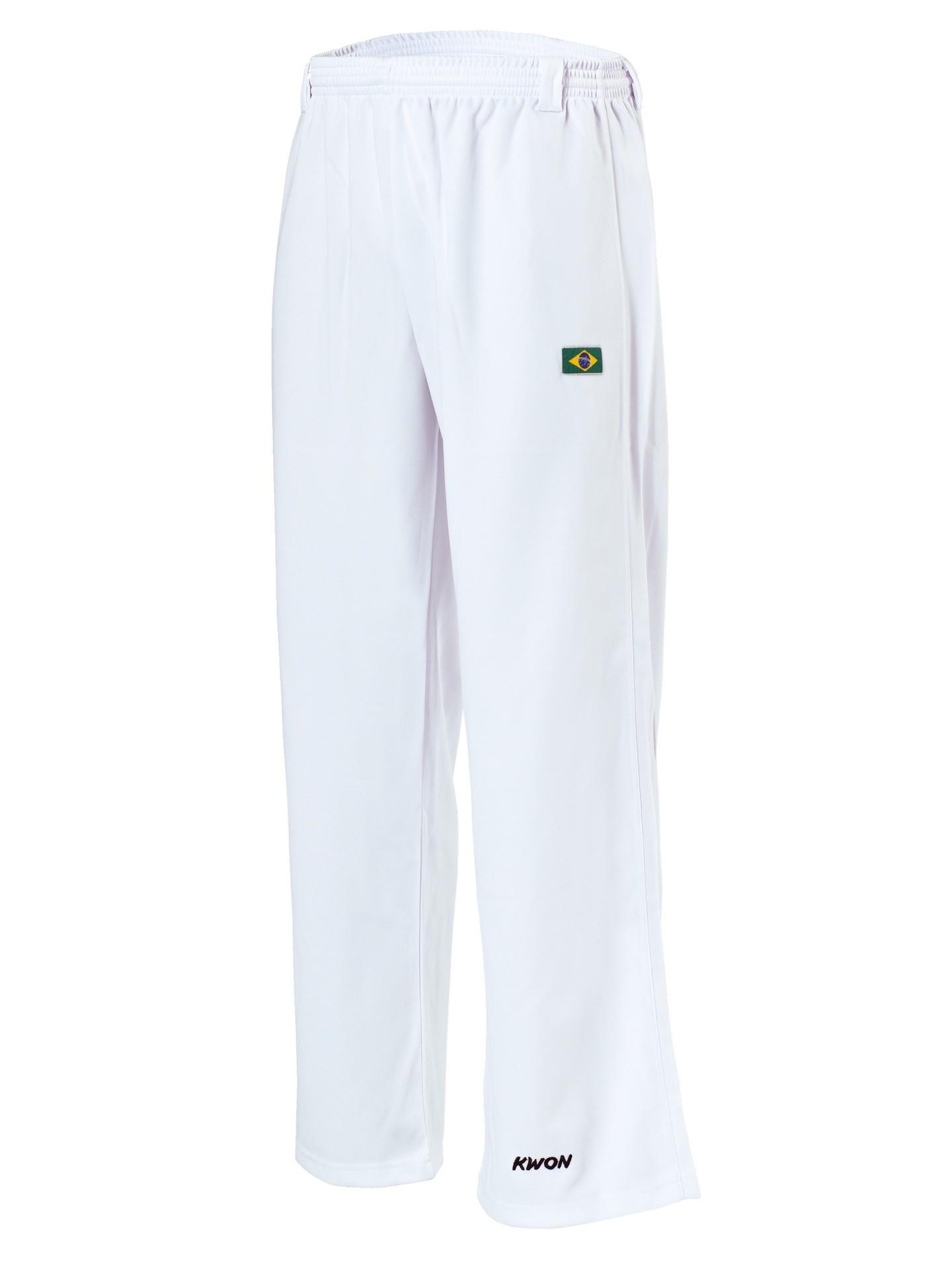 Capoeira kelnės baltos