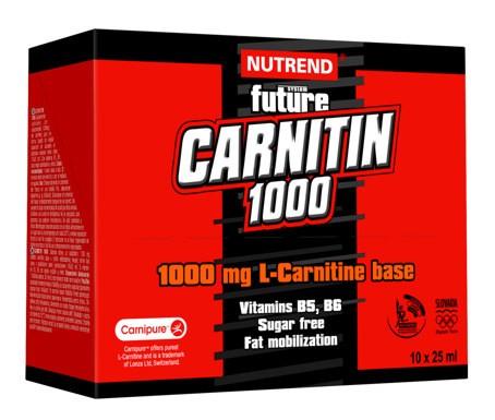 Carnitin 1000 10x25ml/60 kaps/120 kaps.