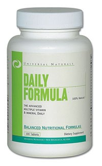 Daily Formula 30/100 tab.
