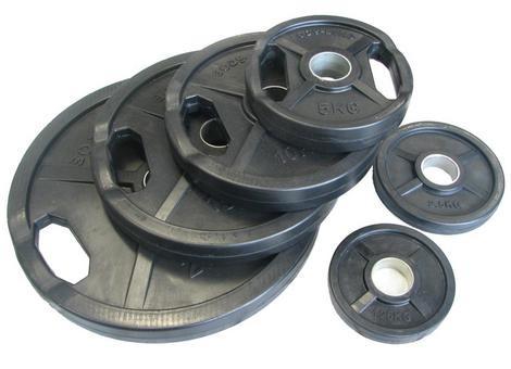 Gumuoti diskiniai svoriai 50mm