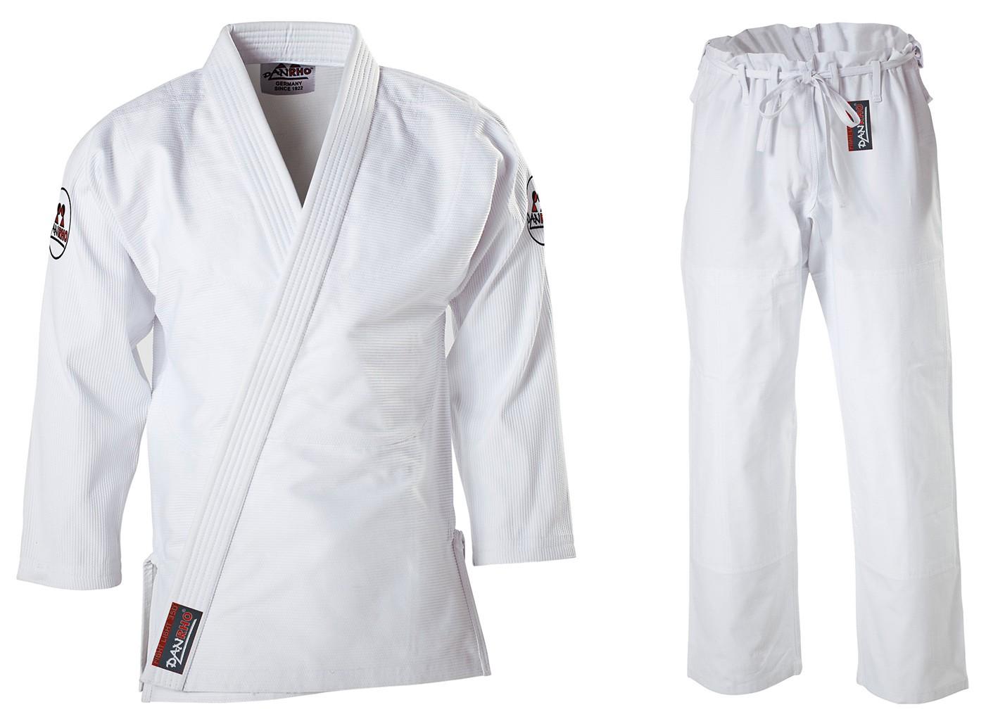 Džiu Džitsu kimono Danrho Fight light 350 balta