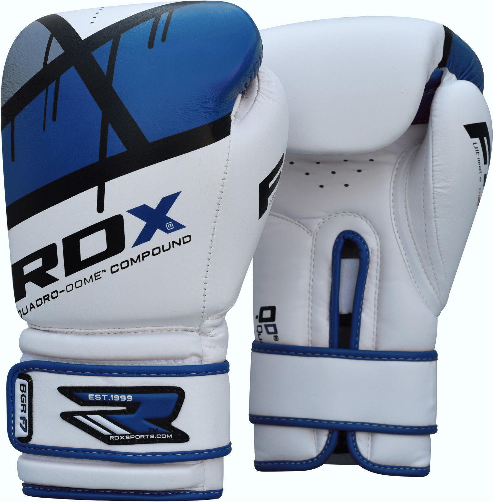 Bokso pirštinės RDX BGR-F7 mėlynos, 12oz