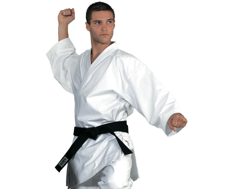 Karate kimono švarkas KWON Traditional 8oz, baltas
