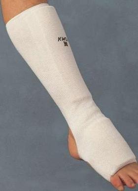 Kojų (blauzdų ir kelties) apsauga balta