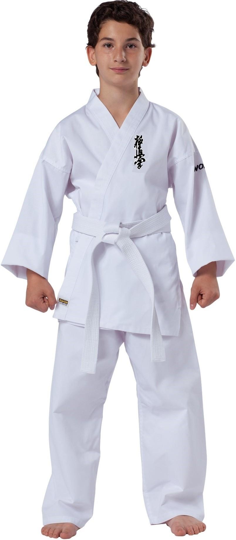 Kyokushin karate kimono KWON Junior su kyokushin ženklu