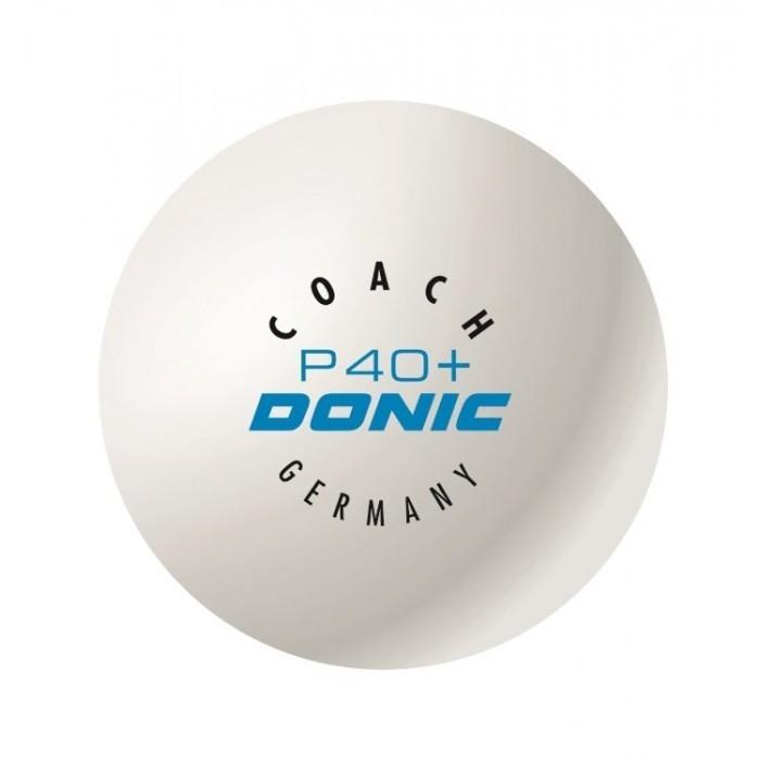 Stalo teniso kamuoliukas DONIC Coach P40+ 1vnt