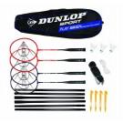 Badmintono rinkinys Dunlop play Smash 4 players set