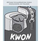 """Bokso maišas KWON """"Standard"""" paminkštintas (nuo 120cm iki 180cm)"""