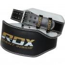 Diržas sunkiaatlečiams RDX 15cm, odinis, L