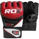 MMA pirštinės RDX F12 raudonos