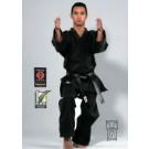 Karate kimono Traditional juoda