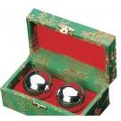 Kiniški kamuoliukai sidabriniai, skambantys