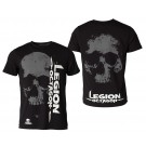 Marškinėliai Legion Octagon, 100% medvilnė, L dydis