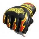 MMA pirštinės Rogue Special Edition Fire juodos