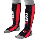 Kojų apsaugos su pėda neopreninės RDX raudonos
