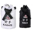 Sportinis krepšys Judo/Karate, juodas/baltas